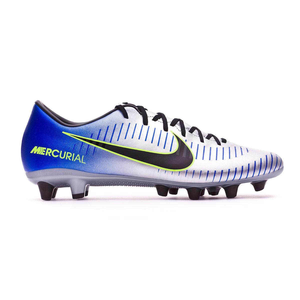 3dff176e6 Football Boots Nike Mercurial Victory VI AG Neymar Racer blue-Black-Chrome-Volt  - Football store Fútbol Emotion