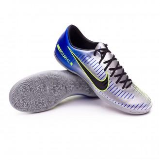Sapatilha de Futsal  Nike MercurialX Victory VI IC Neymar Racer blue-Black-Chrome-Volt