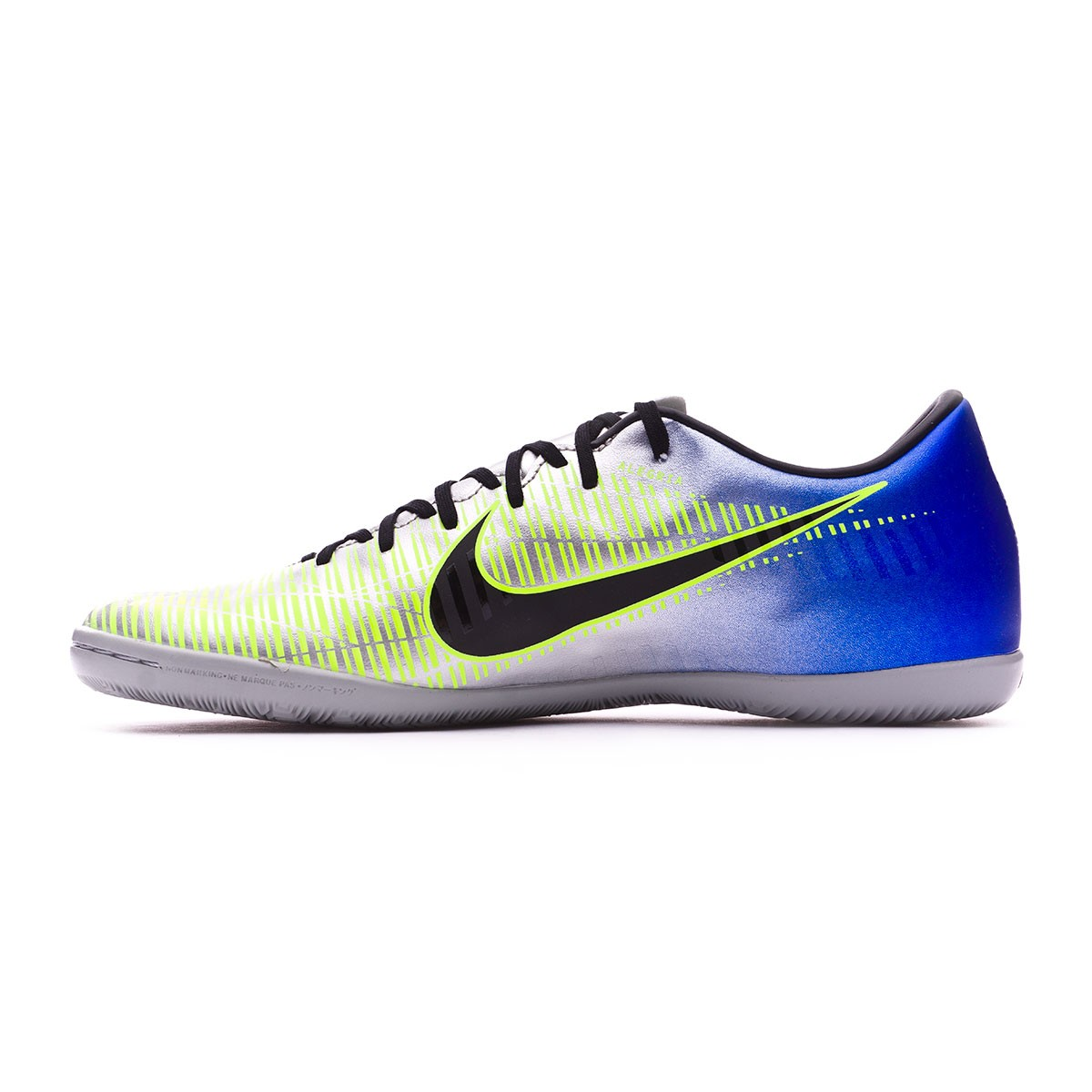 5526125140d Futsal Boot Nike MercurialX Victory VI IC Neymar Racer  blue-Black-Chrome-Volt - Football store Fútbol Emotion