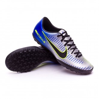 Zapatilla  Nike MercurialX Victory VI Turf Neymar Racer blue-Black-Chrome-Volt