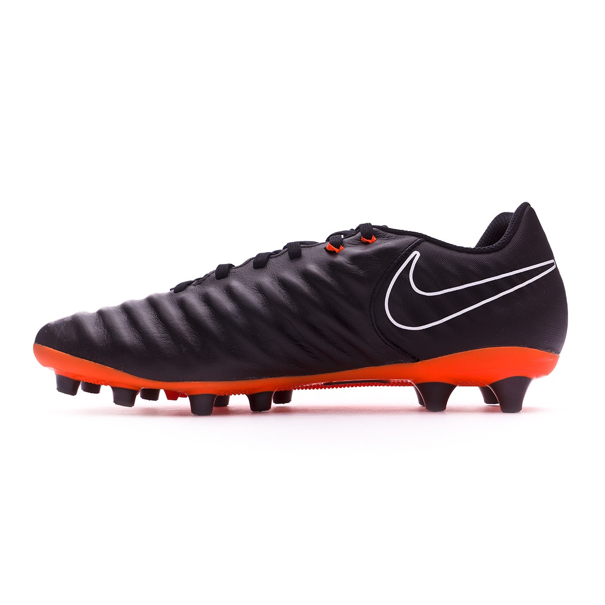 newest 77fa5 bd1a3 Bota Tiempo Legend VII Academy AG-Pro Black-Total orange-White