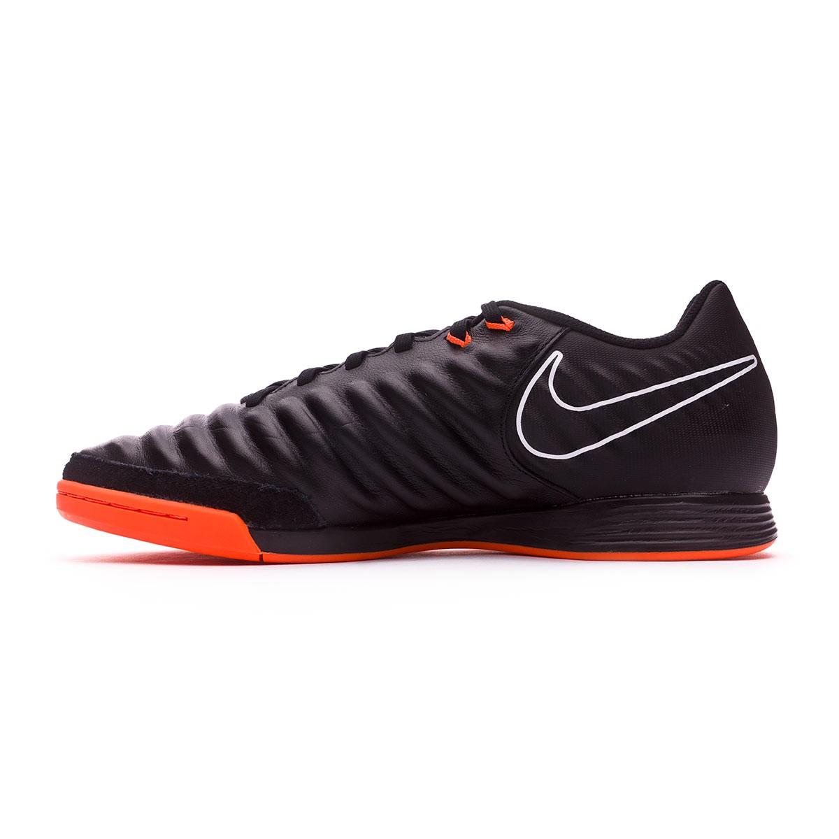 8d03654800cb4 Scarpe Nike Tiempo LegendX VII Academy IC Black-Total orange-White -  Negozio di calcio Fútbol Emotion