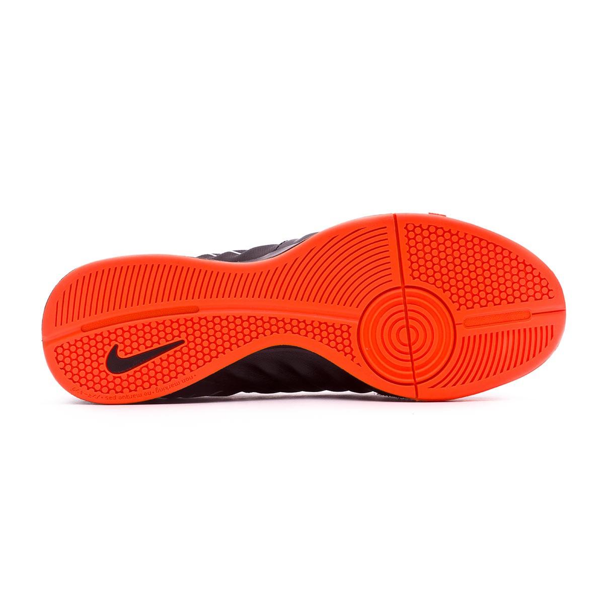 a98cc46c4 Futsal Boot Nike Tiempo LegendX VII Academy IC Black-Total orange-White -  Football store Fútbol Emotion