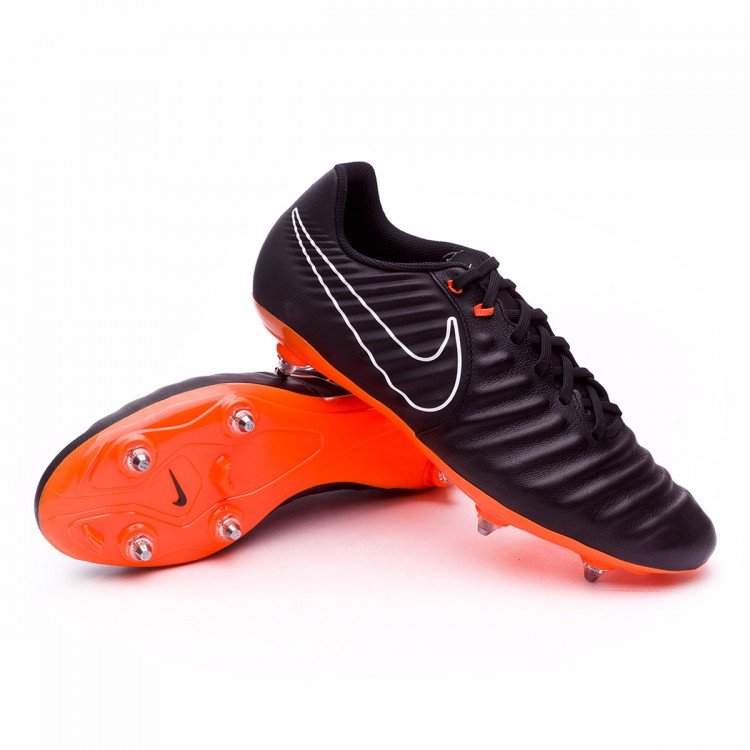 232bee122f Chuteira Nike Tiempo Legend VII Academy SG Black-Total orange-White ...