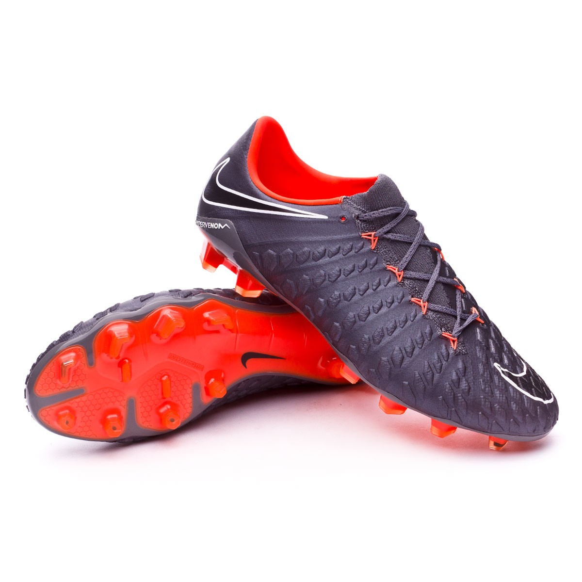 nike hypervenom phantom orange black