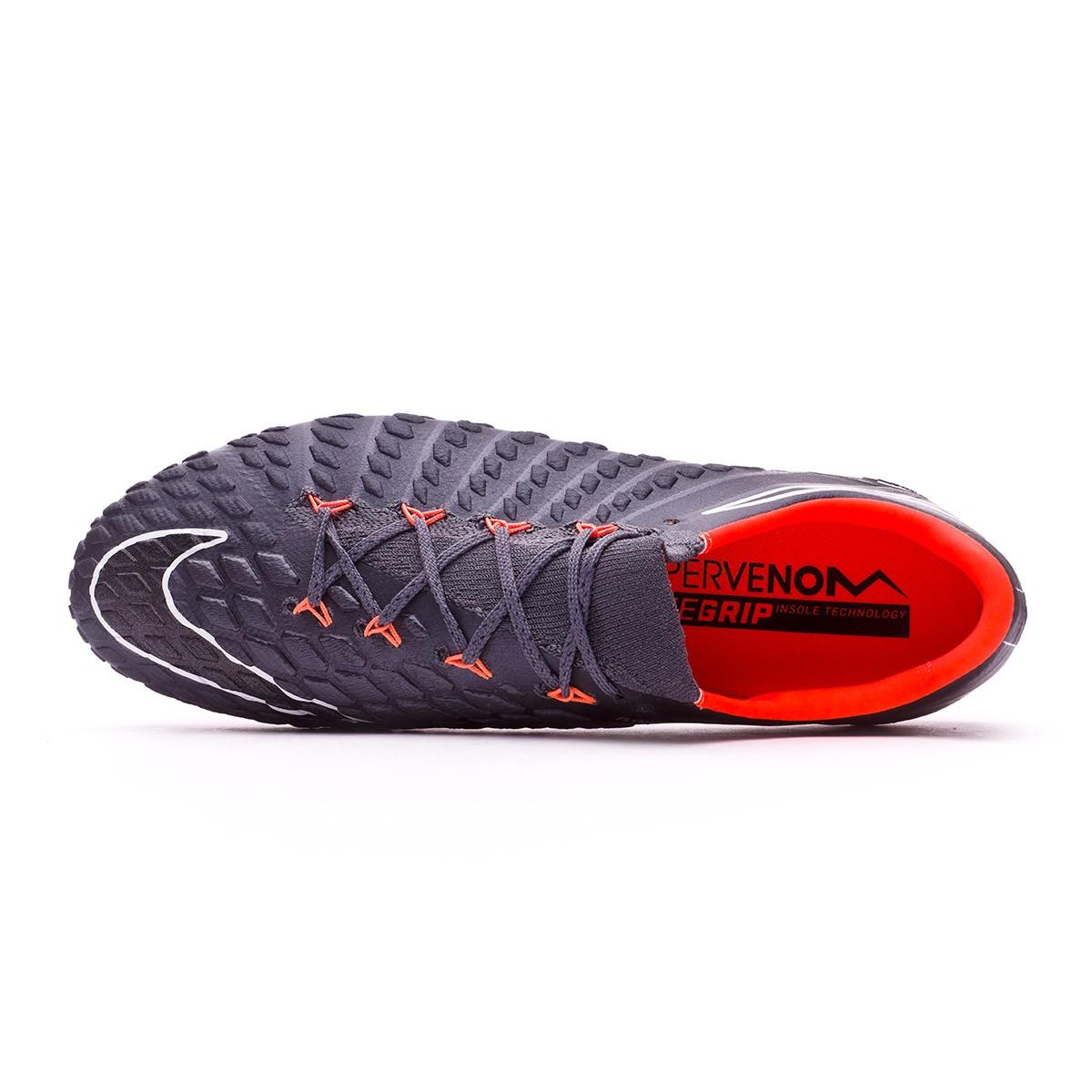 Stivali Nike Hypervenom Phantom III Elite FG arancia Dark grigio Total arancia FG   b12857