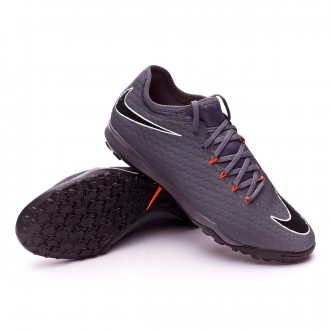 Tenis  Nike Hypervenom Zoom PhantomX III Pro Turf Dark grey-Total orange-White