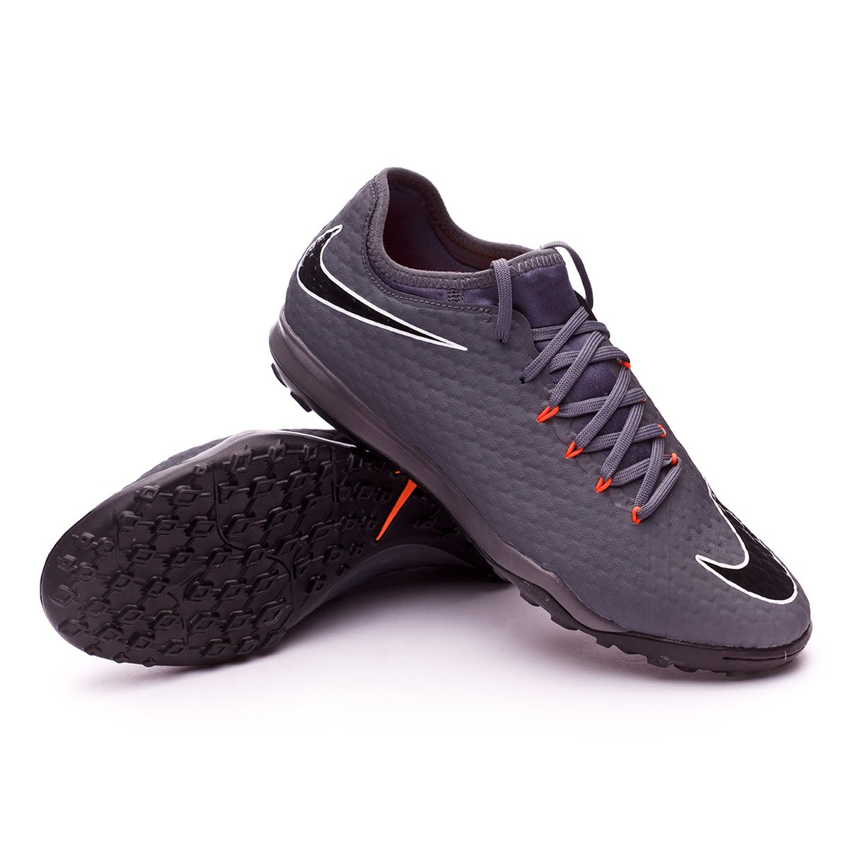 designer fashion f2fff c5cca Zapatilla Hypervenom Zoom PhantomX III Pro Turf Dark grey-Total orange-White