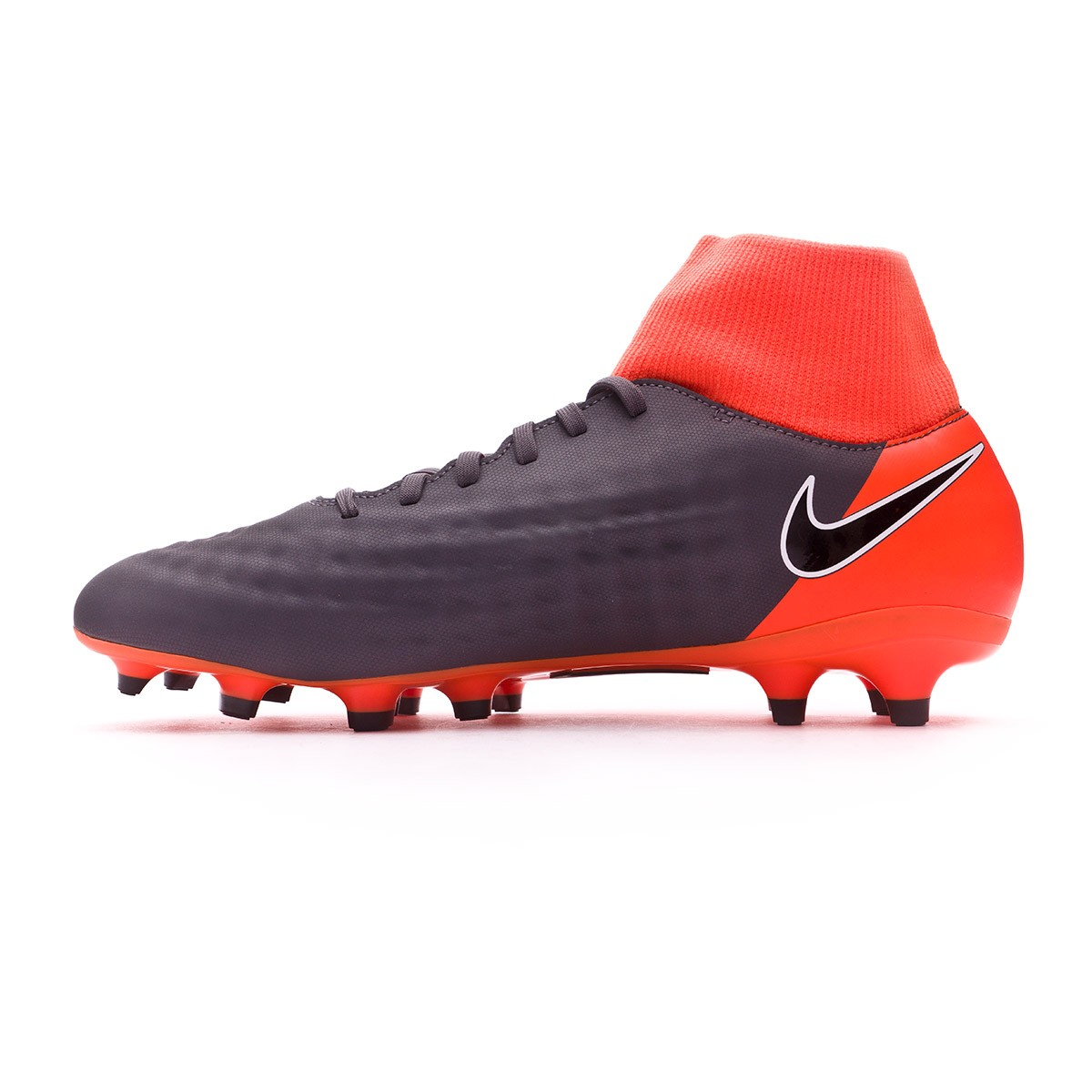 9f227208c9de Football Boots Nike Magista Obra II Academy DF FG Dark grey-Black-Total  orange-White - Tienda de fútbol Fútbol Emotion