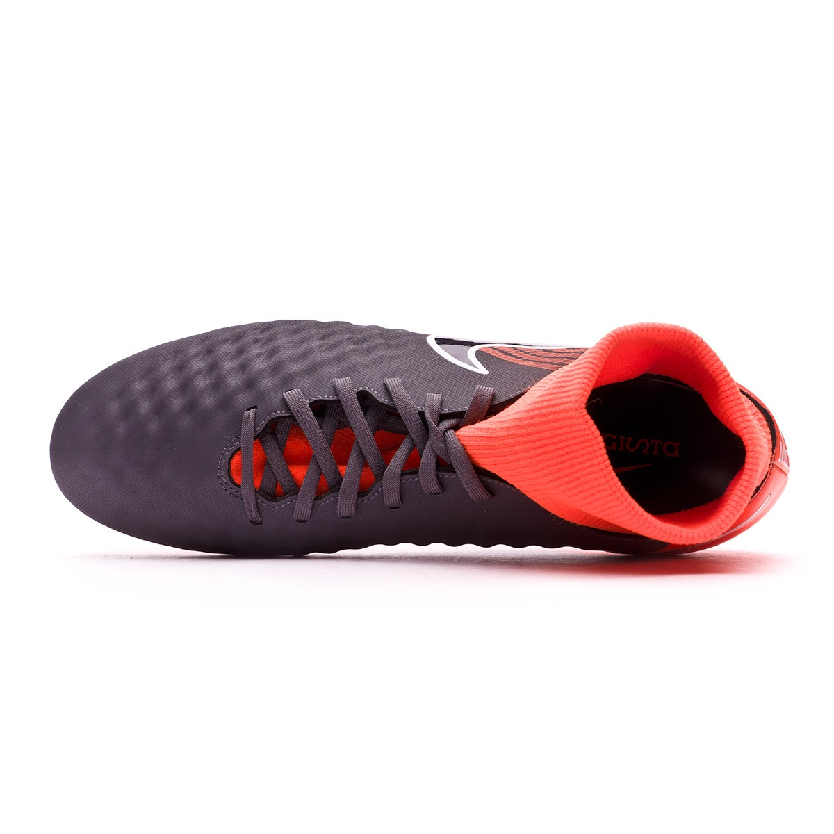 c62546349be1 Football Boots Nike Magista Obra II Academy DF FG Dark grey-Black-Total  orange-White - Tienda de fútbol Fútbol Emotion