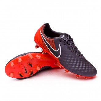 Zapatos de fútbol  Nike Magista Obra II Elite FG Dark grey-Black-Total orange-White