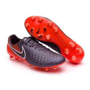 fe769527217c1 Football Boots Nike Magista Obra II Elite FG Dark grey-Black-Total ...