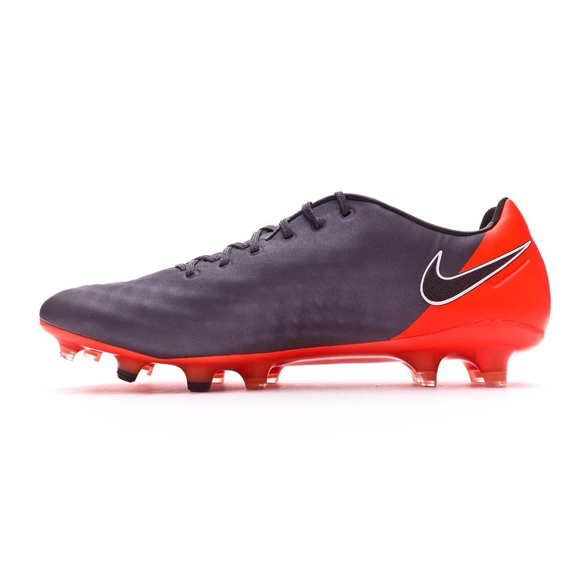 3ff6b8a3a1843 Football Boots Nike Magista Obra II Elite FG Dark grey-Black-Total orange- White - Tienda de fútbol Fútbol Emotion