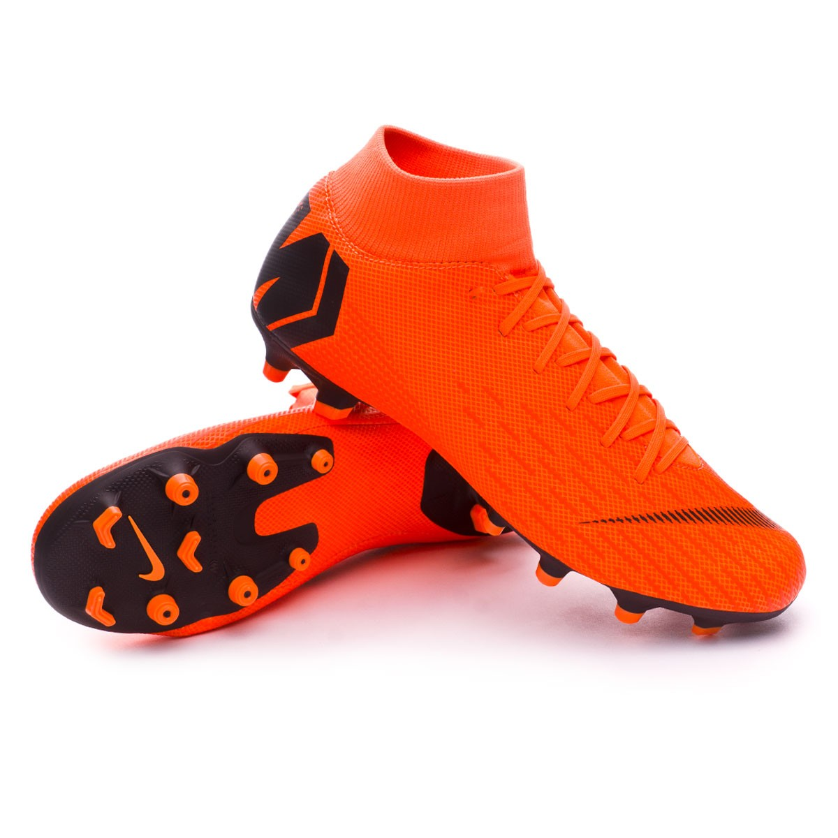 5f675ddd757 Chuteira Nike Mercurial Superfly VI Academy MG Total orange-Black ...
