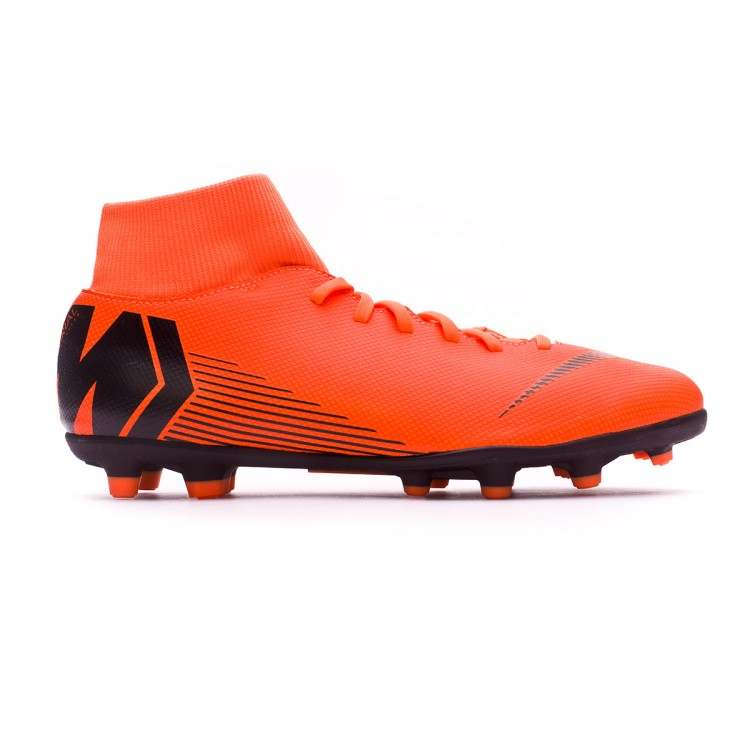 7c546387678 Bota Mercurial Superfly VI Club MG Total orange-Black-Volt