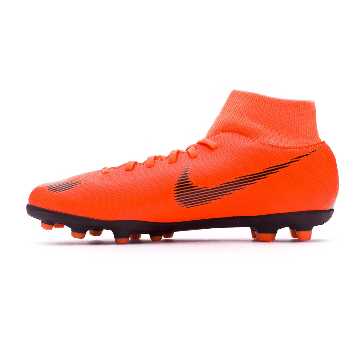 ac08cfa5b Football Boots Nike Mercurial Superfly VI Club MG Total orange-Black-Volt -  Tienda de fútbol Fútbol Emotion