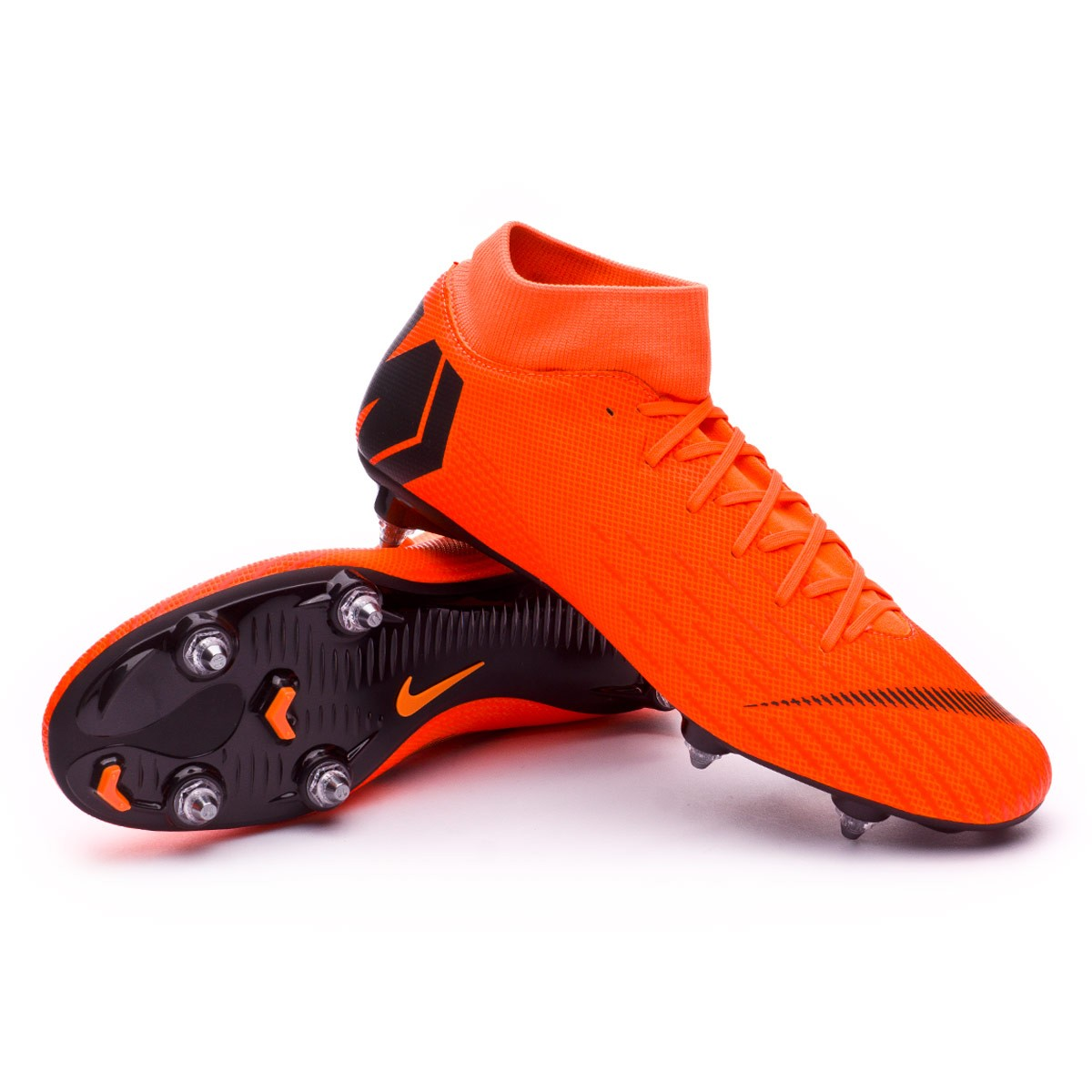 pretty nice d93c3 5ae98 Chaussure de foot Nike Mercurial Superfly VI Academy SG-Pro Total  orange-Black-Volt - Boutique de football Fútbol Emotion