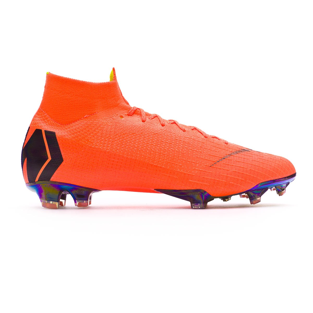 new products 1cccd 7da67 Football Boots Nike Mercurial Superfly VI Elite FG Total orange-Black-Volt  - Football store Fútbol Emotion