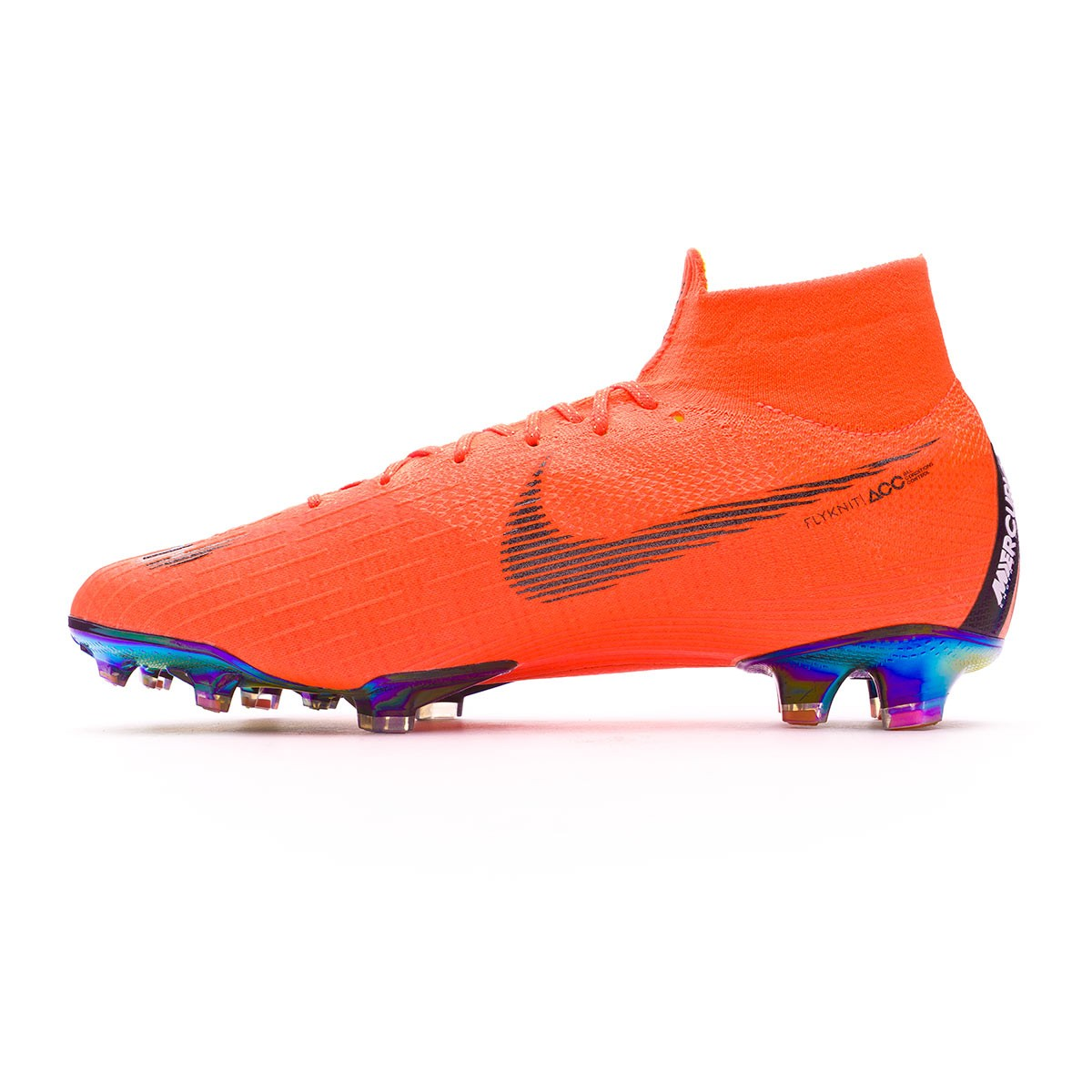 2fbdbc8a2fc2 Football Boots Nike Mercurial Superfly VI Elite FG Total orange-Black-Volt  - Football store Fútbol Emotion