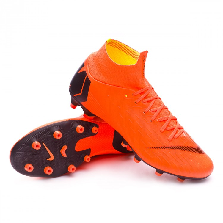 8c92b350303 Football Boots Nike Mercurial Superfly VI Pro AG-Pro Total orange ...