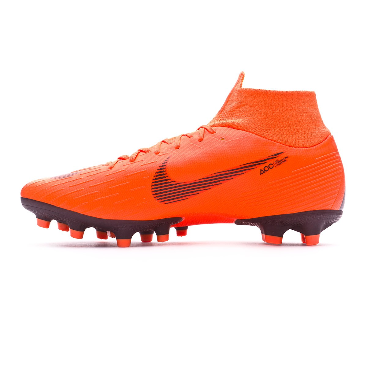 04914b37184 Football Boots Nike Mercurial Superfly VI Pro AG-Pro Total orange-Black-Volt  - Football store Fútbol Emotion