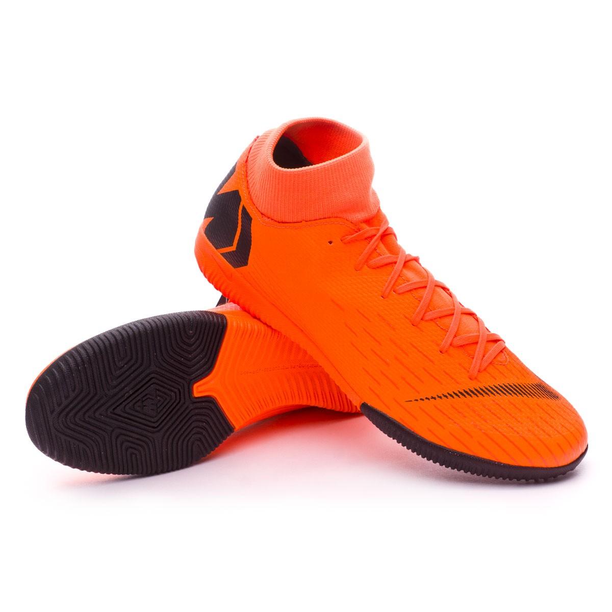 e50daf679ef9 Nike Mercurial SuperflyX VI Academy IC Futsal Boot. Total orange-Black-Volt  ...
