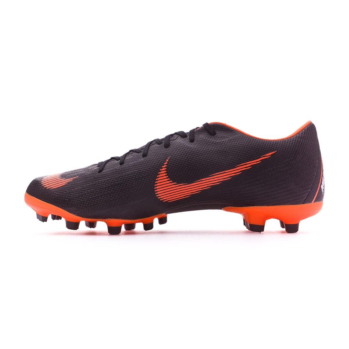 official photos 0da45 ba64f Bota de fútbol Nike Mercurial Vapor XII Academy MG Black-Total orange-White  - Tienda de fútbol Fútbol Emotion