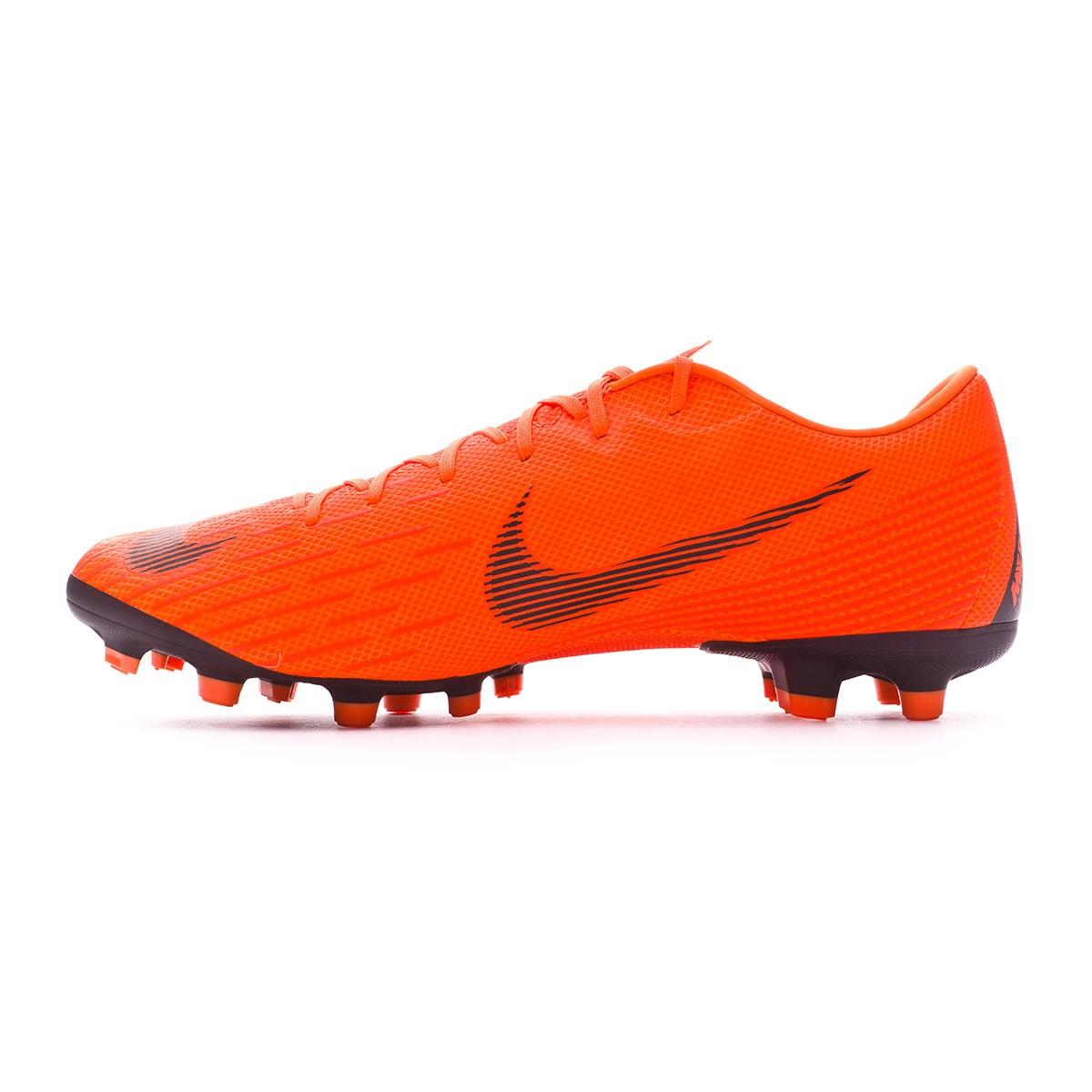 wholesale dealer b390a 7c865 Football Boots Nike Mercurial Vapor XII Academy MG Total orange-Black-Volt  - Tienda de fútbol Fútbol Emotion