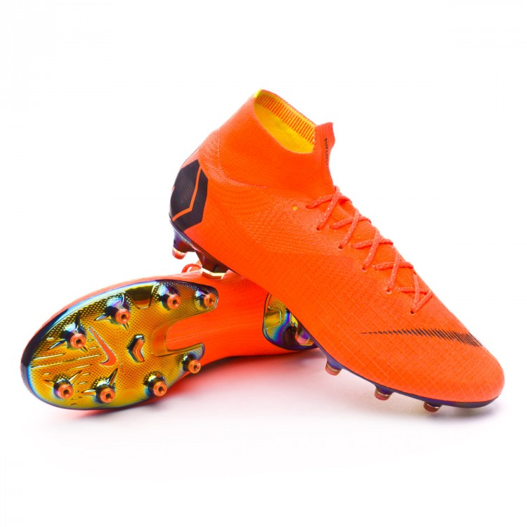 sports shoes b1fe9 66379 Bota Mercurial Superfly VI Elite AG-Pro Total orange-Black-Volt