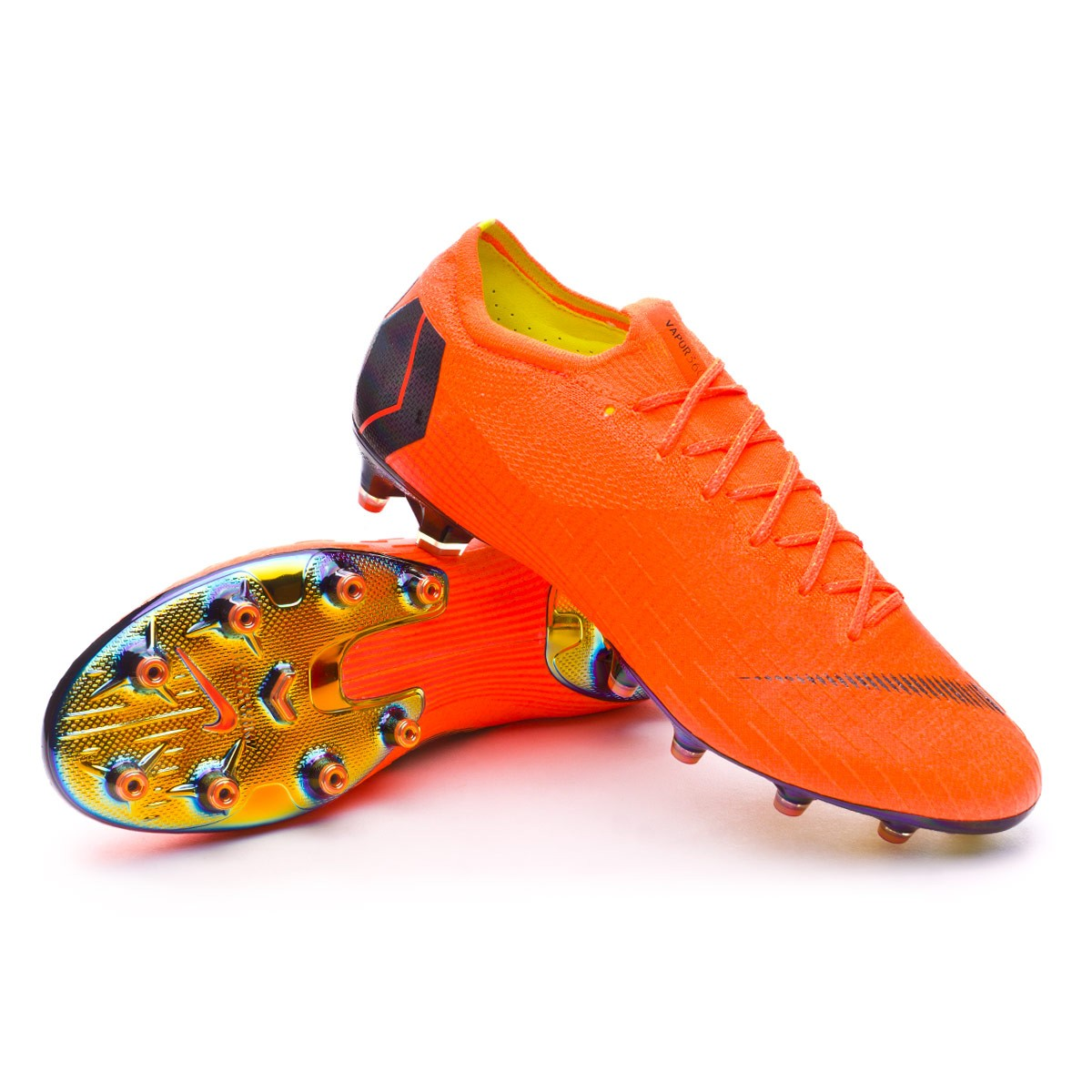 Boot Nike Mercurial Vapor XII Elite AG-Pro Total orange-Black-Volt ... 28613cbe7c