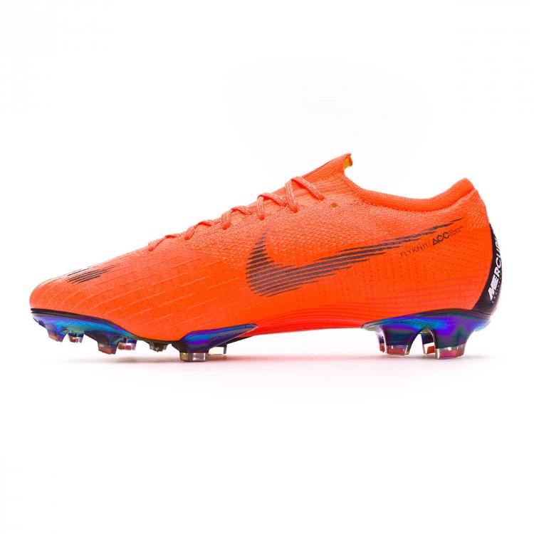 57743e52d Football Boots Nike Mercurial Vapor XII Elite FG Total orange-Black ...