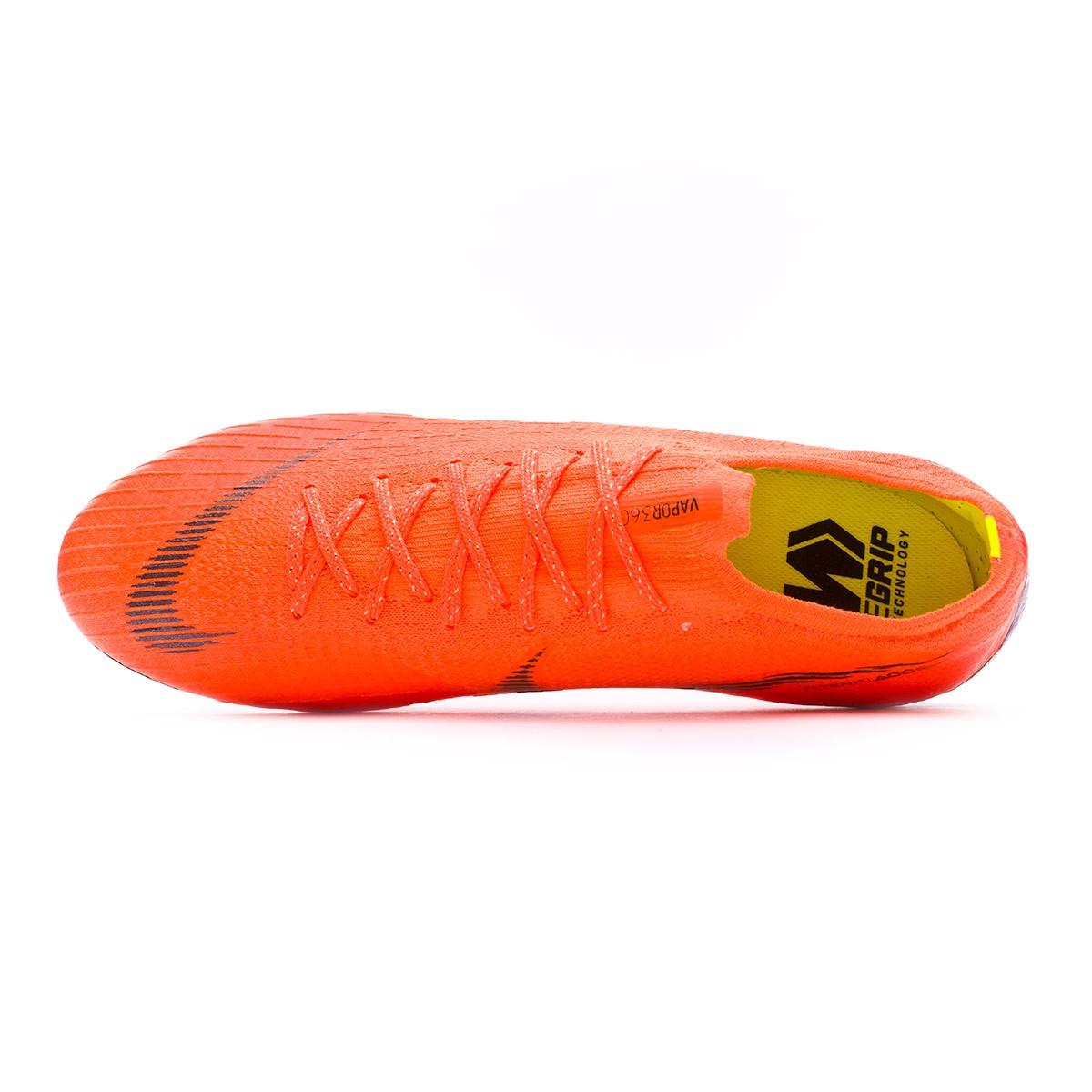 55f926165b1 Bota de fútbol Nike Mercurial Vapor XII Elite FG Total orange-Black-Volt -  Tienda de fútbol Fútbol Emotion