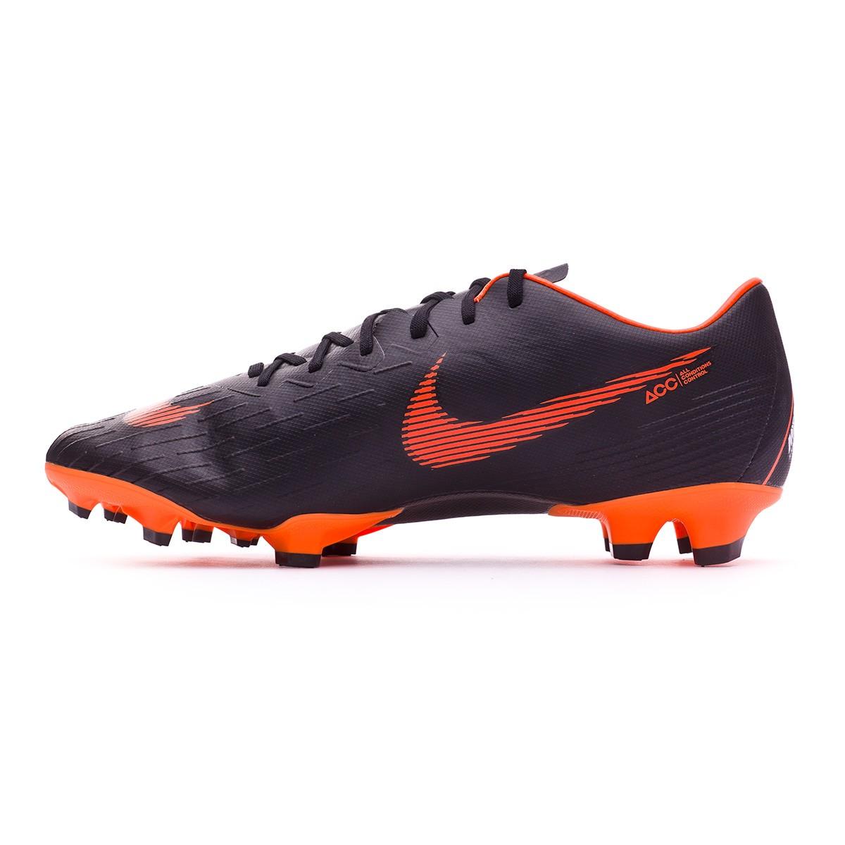 super cute da175 3e9d0 Boot Nike Mercurial Vapor XII Pro FG Black-Total orange-White -  Soloporteros es ahora Fútbol Emotion