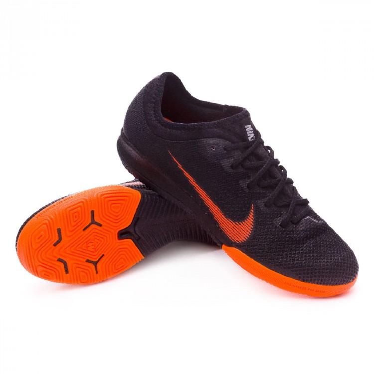 Scarpa Nike Mercurial VaporX  XII Pro IC Nero Total arancia bianca   VaporX f4b053