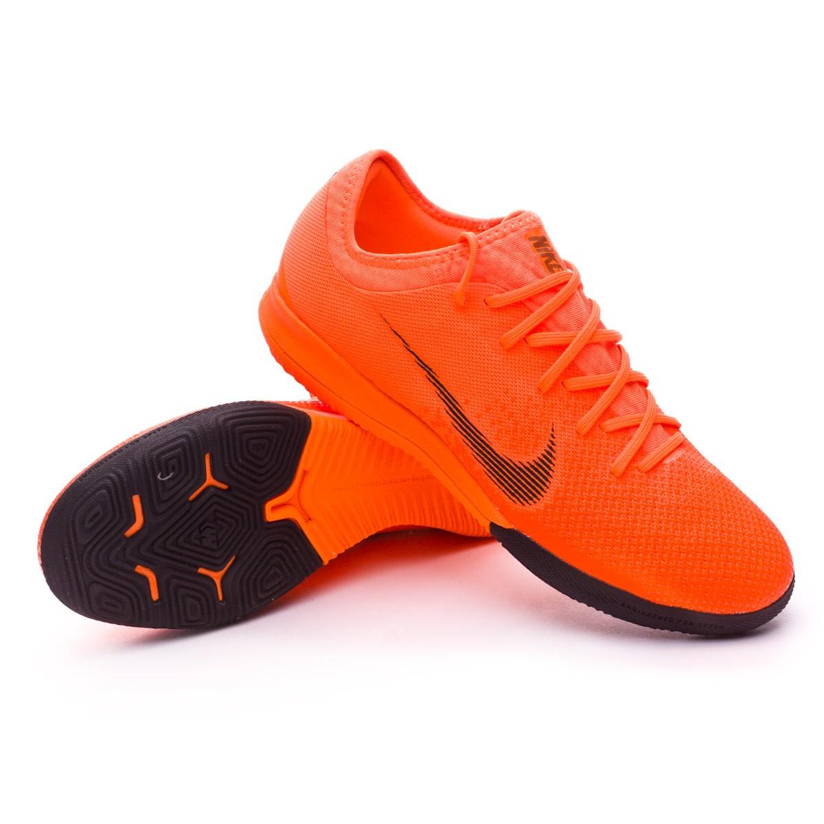 e56f94f0b Futsal Boot Nike Mercurial VaporX XII Pro IC Total orange-Black-Volt ...
