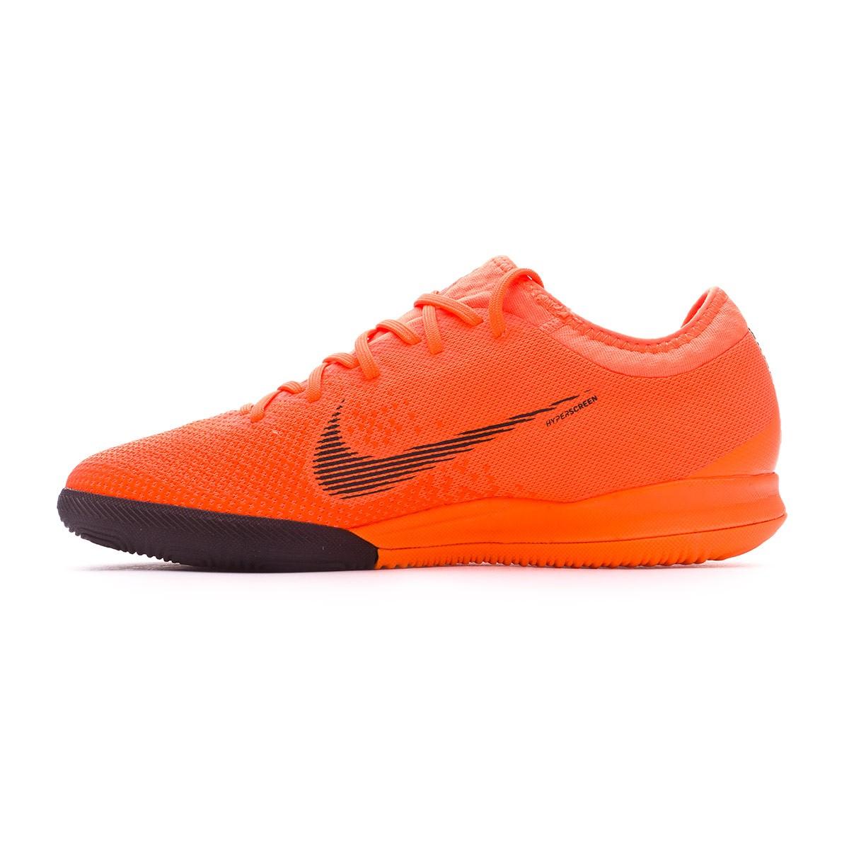 7378fee59 Futsal Boot Nike Mercurial VaporX XII Pro IC Total orange-Black-Volt -  Football store Fútbol Emotion