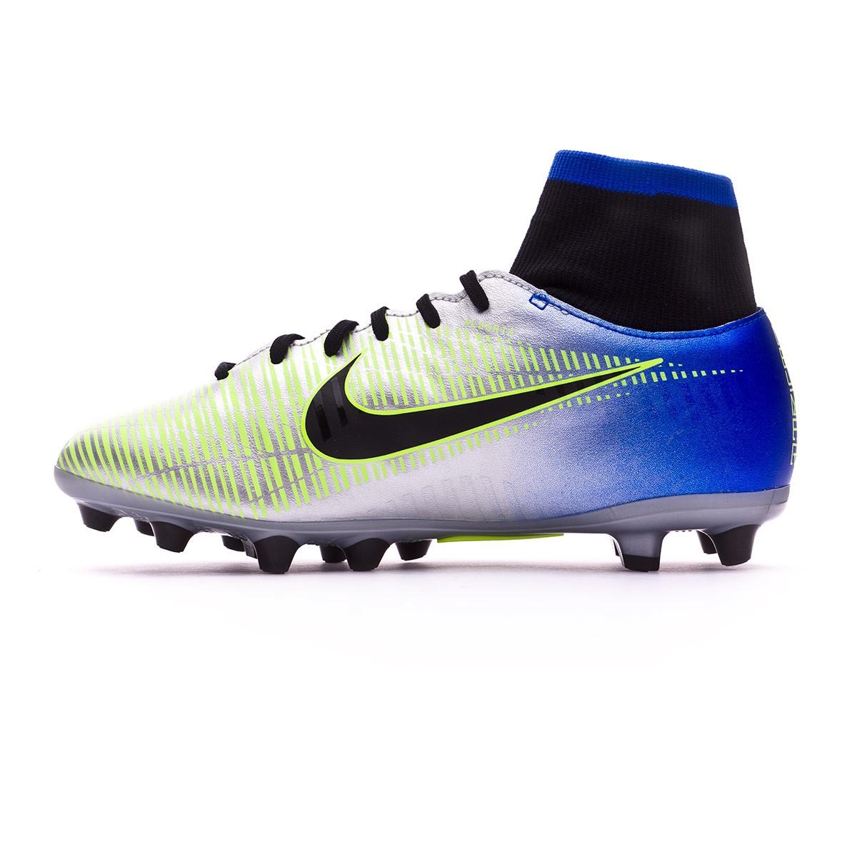 Bota de fútbol Nike Mercurial Victory VI DF AG-Pro Neymar Niño Racer  blue-Black-Chrome-Volt - Soloporteros es ahora Fútbol Emotion 92569239c1c