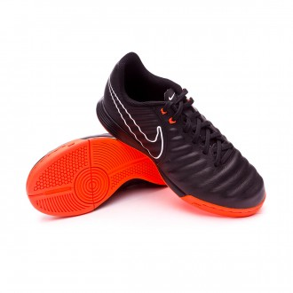 Zapatilla  Nike Tiempo LegendX VII Academy IC Niño Black-Total orange-Black-White