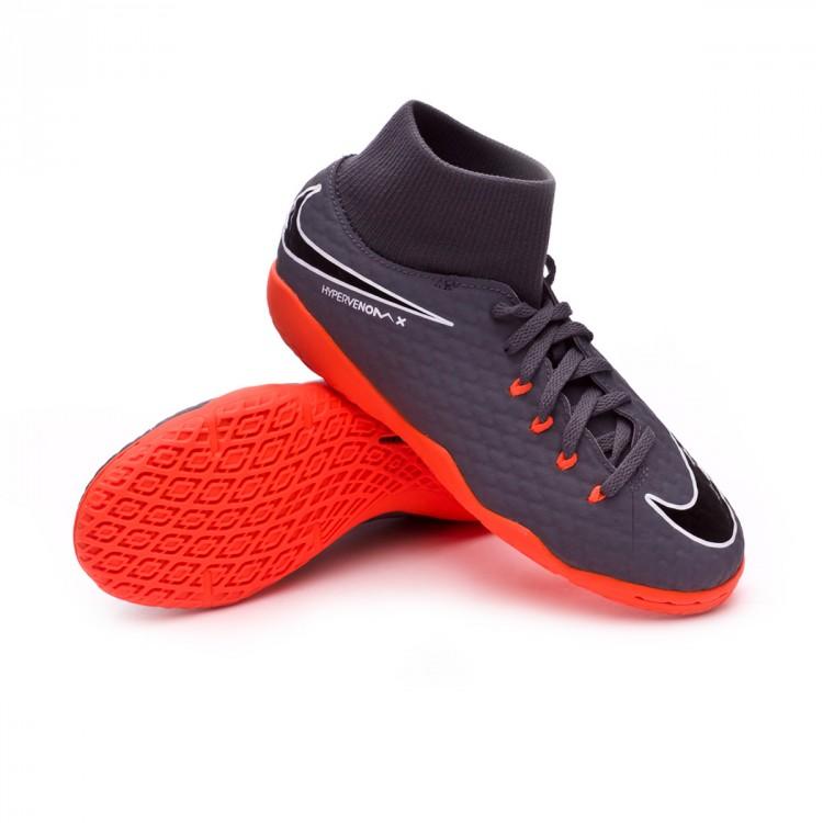 Scarpa Nike Hypervenom Academy PhantomX III Academy Hypervenom DF IC Junior Dark grigio   cec61a