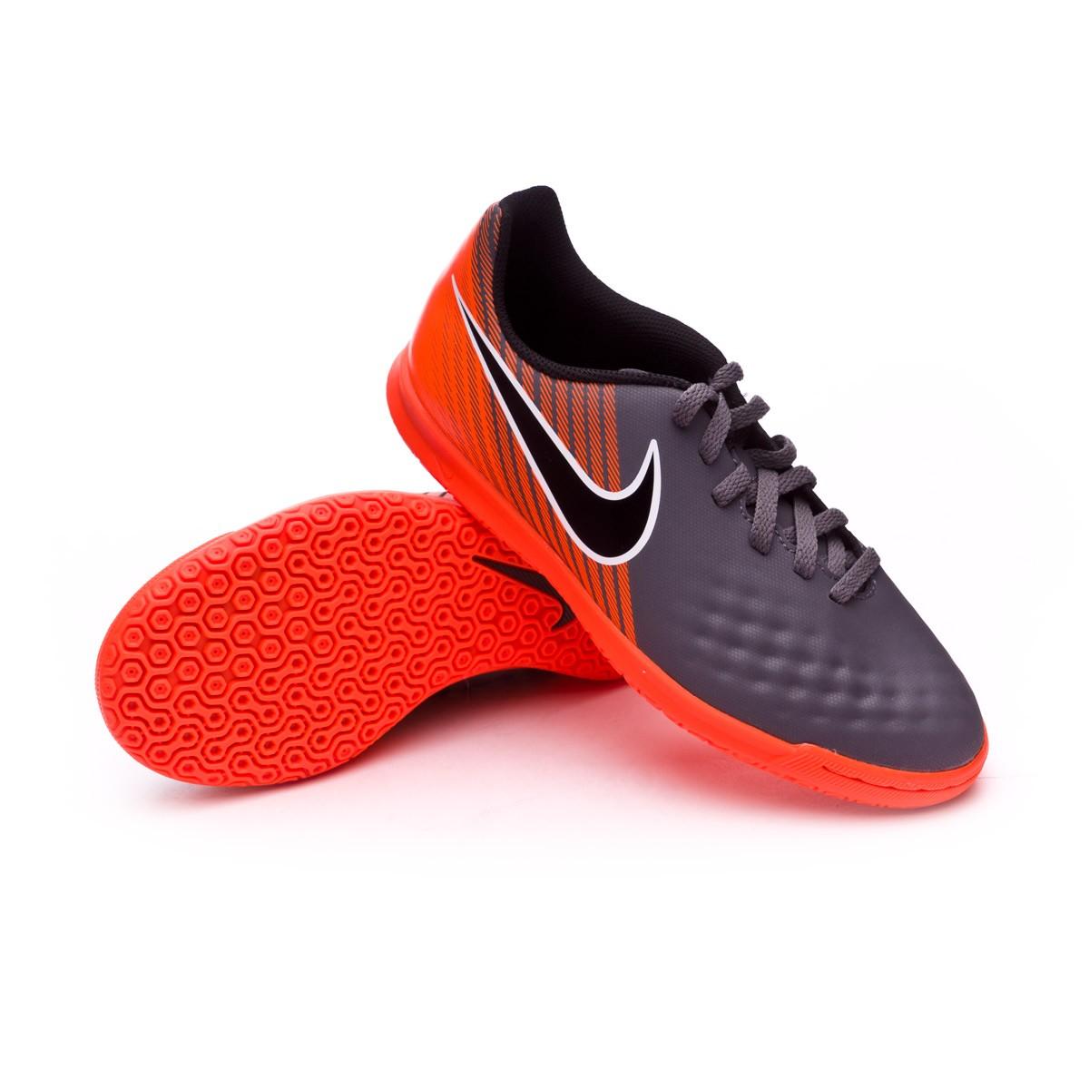 2fb6b8c8dc97 Futsal Boot Nike Magista ObraX II Club IC Niño Dark grey-Black-Total ...