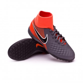 Tenis  Nike Magista ObraX II Academy DF Turf Niño Dark grey-Black-Total orange-White