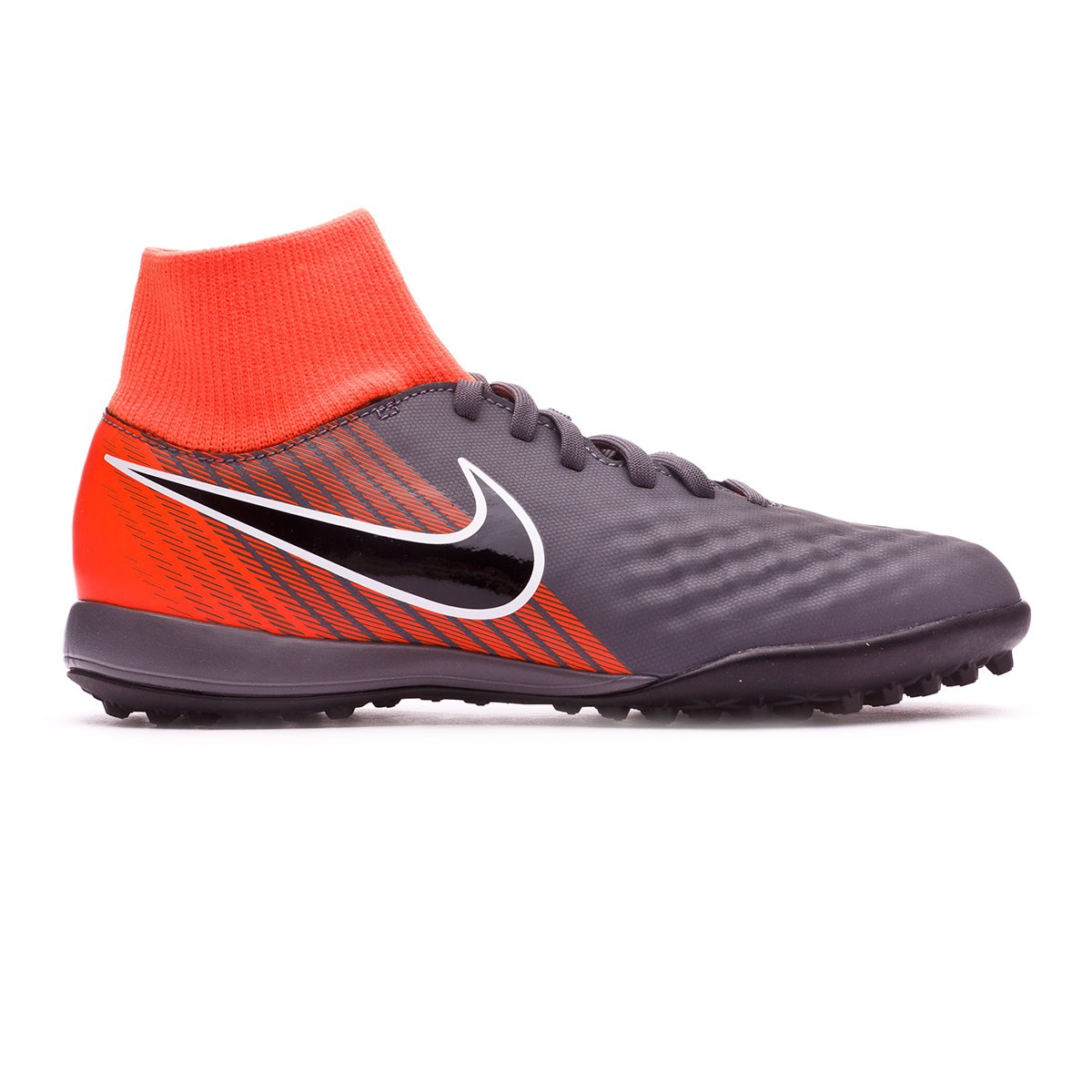 6825124d360 Football Boot Nike Kids Magista ObraX II Academy DF Turf Dark grey-Black-Total  orange-White - Soloporteros es ahora Fútbol Emotion