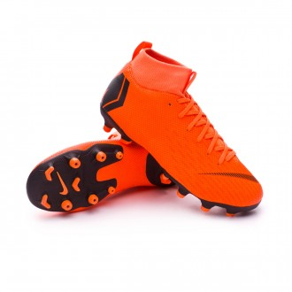 Chuteira  Nike Mercurial Superfly VI Academy GS MG Crianças Total orange-Black-Volt