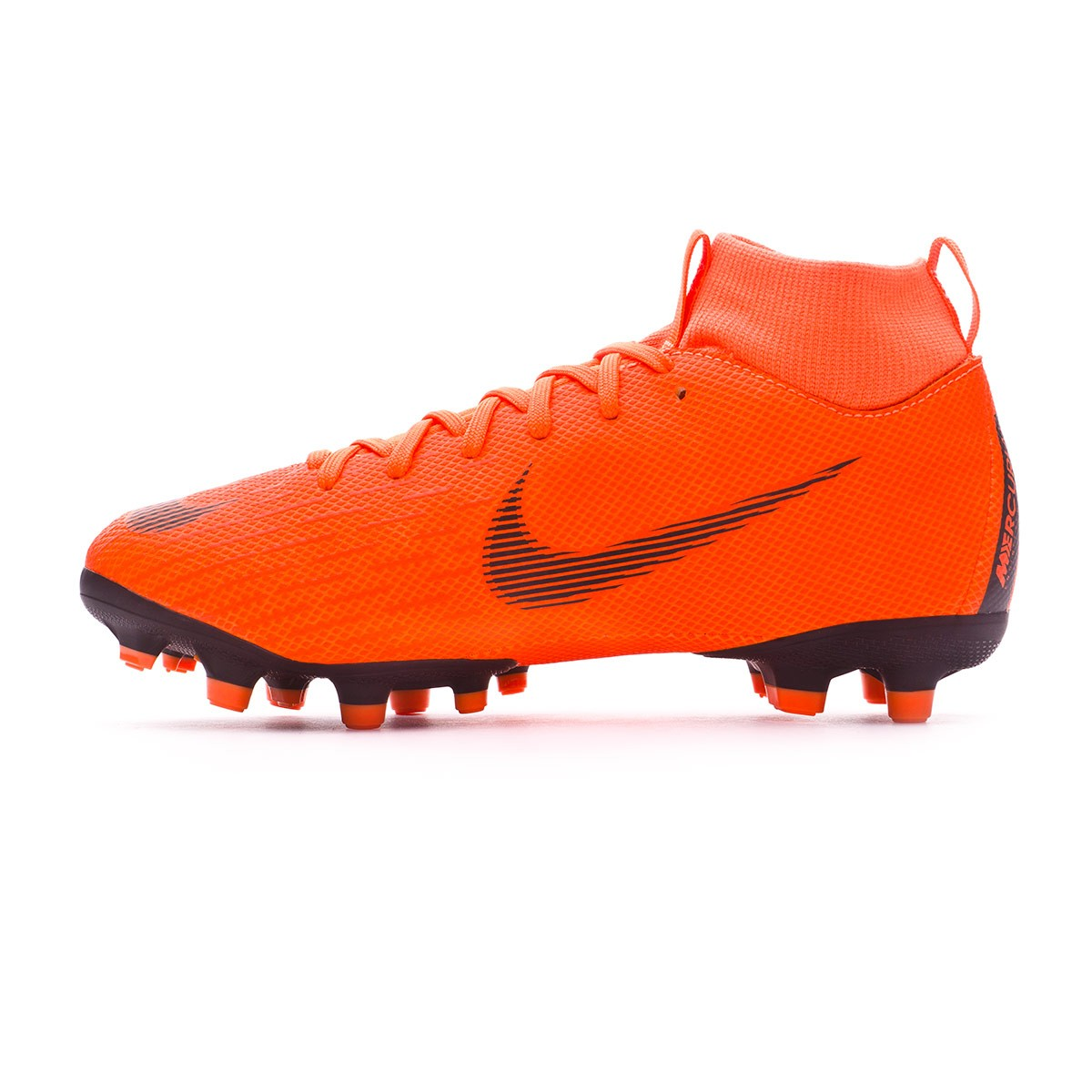 timeless design 3dfa5 da930 Boot Nike Kids Mercurial Superfly VI Academy GS MG Total orange-Black-Volt  - Football store Fútbol Emotion