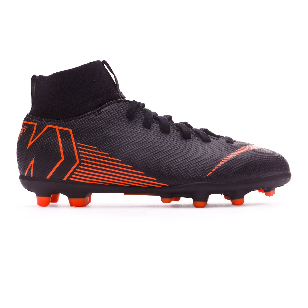lowest price 276eb 6fed7 Boot Nike Kids Mercurial Superfly VI Club MG Black-Total orange-White -  Leaked soccer