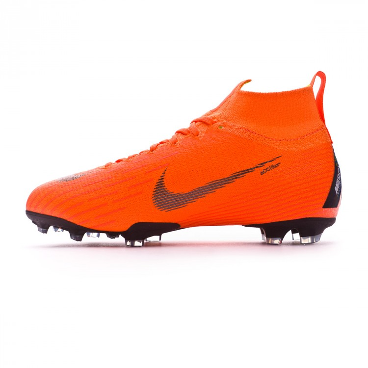 8939f2c7f9 Boot Nike Kids Mercurial Superfly VI Elite FG Total orange-Black ...