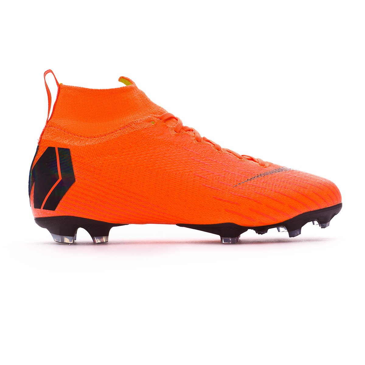 4168dbee7ebe Football Boots Nike Kids Mercurial Superfly VI Elite FG Total  orange-Black-Volt - Football store Fútbol Emotion