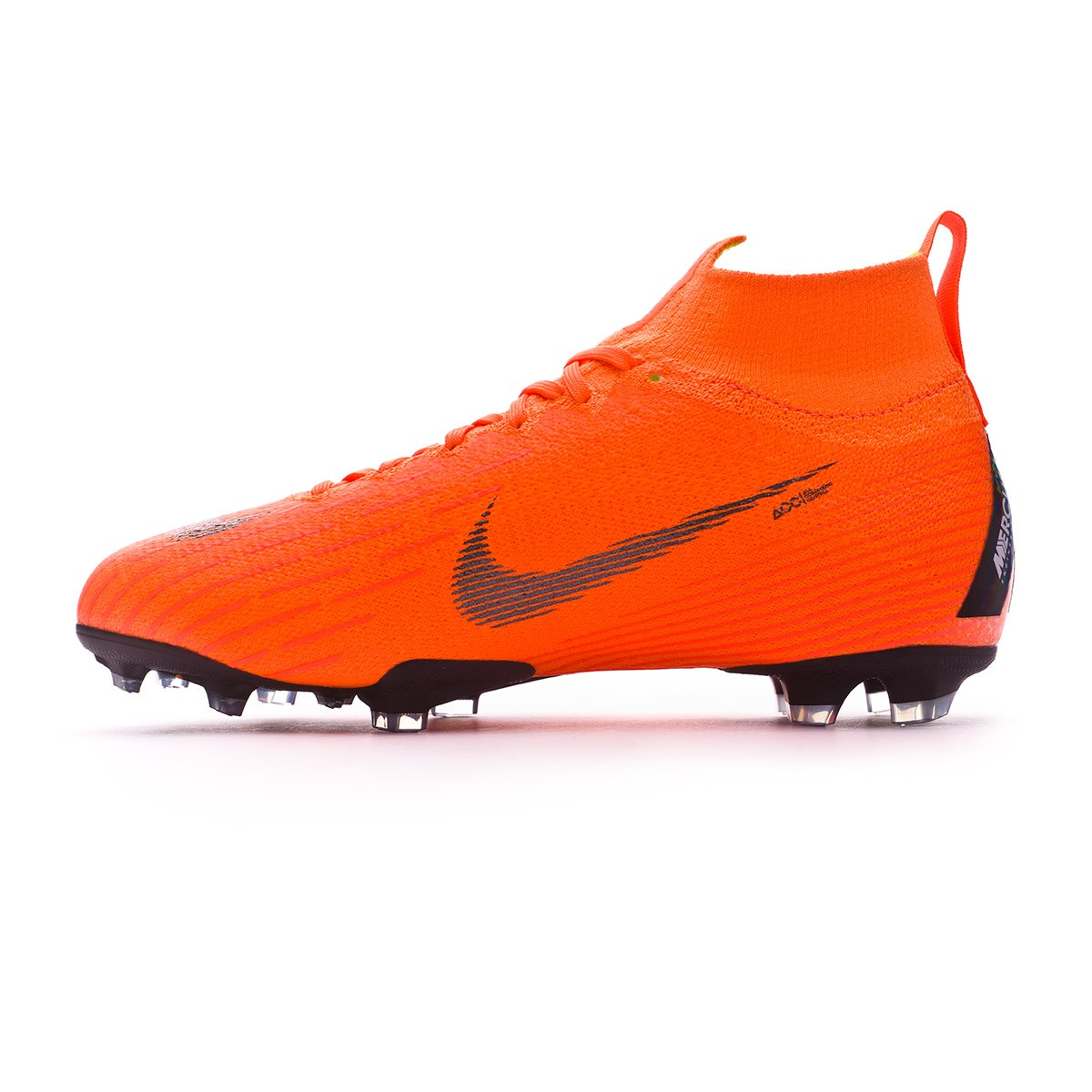 e6cb26d61 Football Boots Nike Kids Mercurial Superfly VI Elite FG Total  orange-Black-Volt - Football store Fútbol Emotion