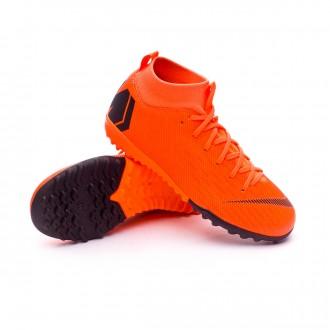 Sapatilhas  Nike Mercurial SuperflyX VI Academy GS Turf Criança Total orange-Black-Volt