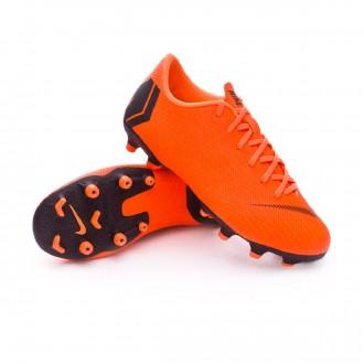 Chuteira  Nike Mercurial Vapor XII Academy GS MG Crianças Total orange-Black-Volt